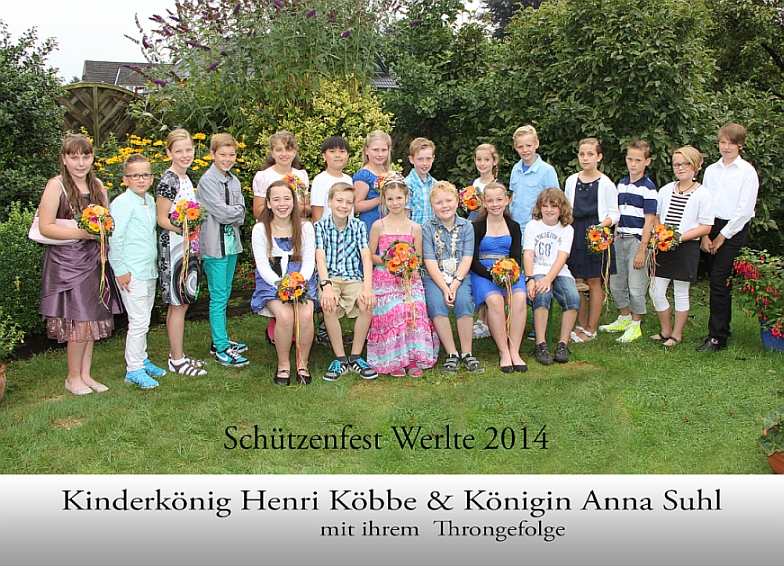 Kinderkönigsthron 2014